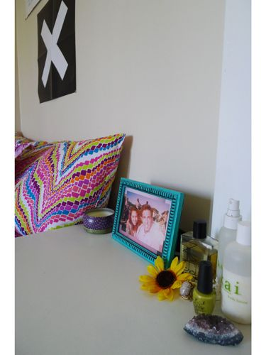 Decorating Ideas > RollOutOfBed Hairstyles  Night Stand ~ 152739_Seventeen Magazine Dorm Room Ideas