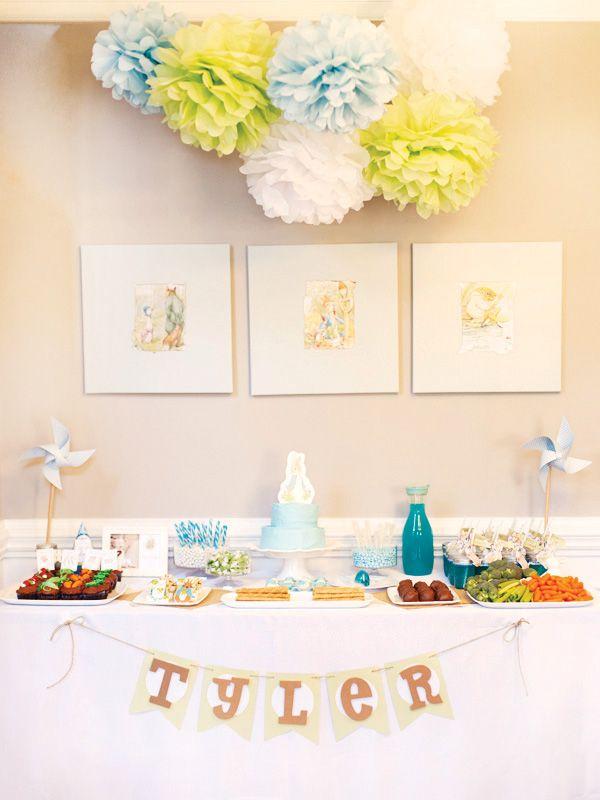 Sweet Peter Rabbit First Birthday Party | Peter rabbit, Peter ...