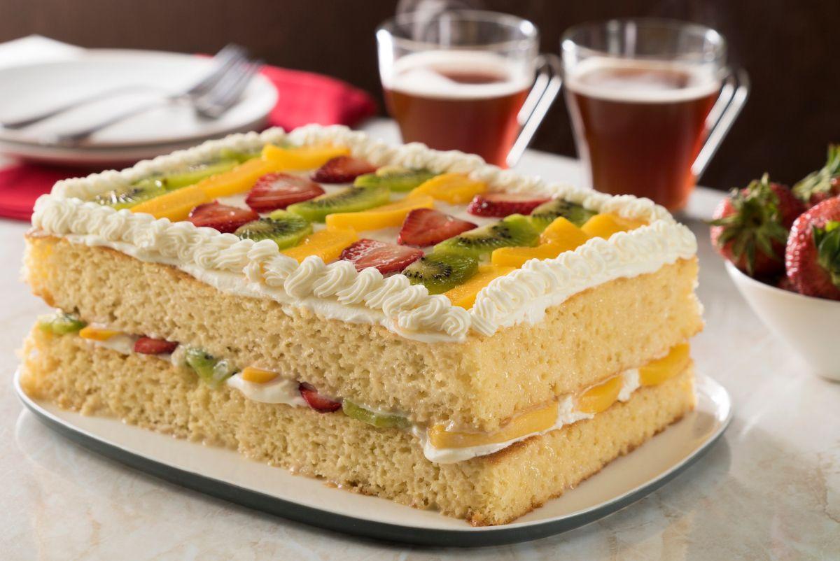 Pastel De 3 Leches En Plancha Recipe Dessert Recipes Cake Recipes Tres Leches Cake