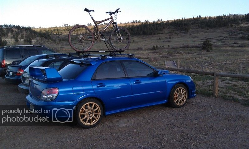 Exterior Prorack Whispbar Roof Rack Installed On 06 Sti Using Rain Gutter Brackets Subaru Impreza Wrx Sti Forums Iwsti Com Roof Rack Wrx Impreza