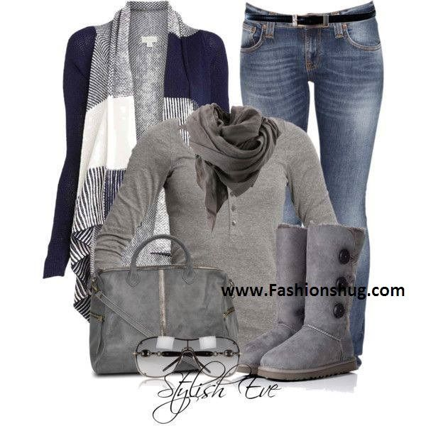 Stylish Eve Outfits Fall Winter Collection 2013-2014 for Teenage ...