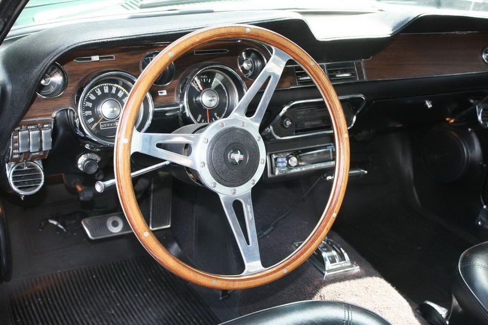 1968 Mustang Dash Deluxe Interior With Images 1968 Mustang