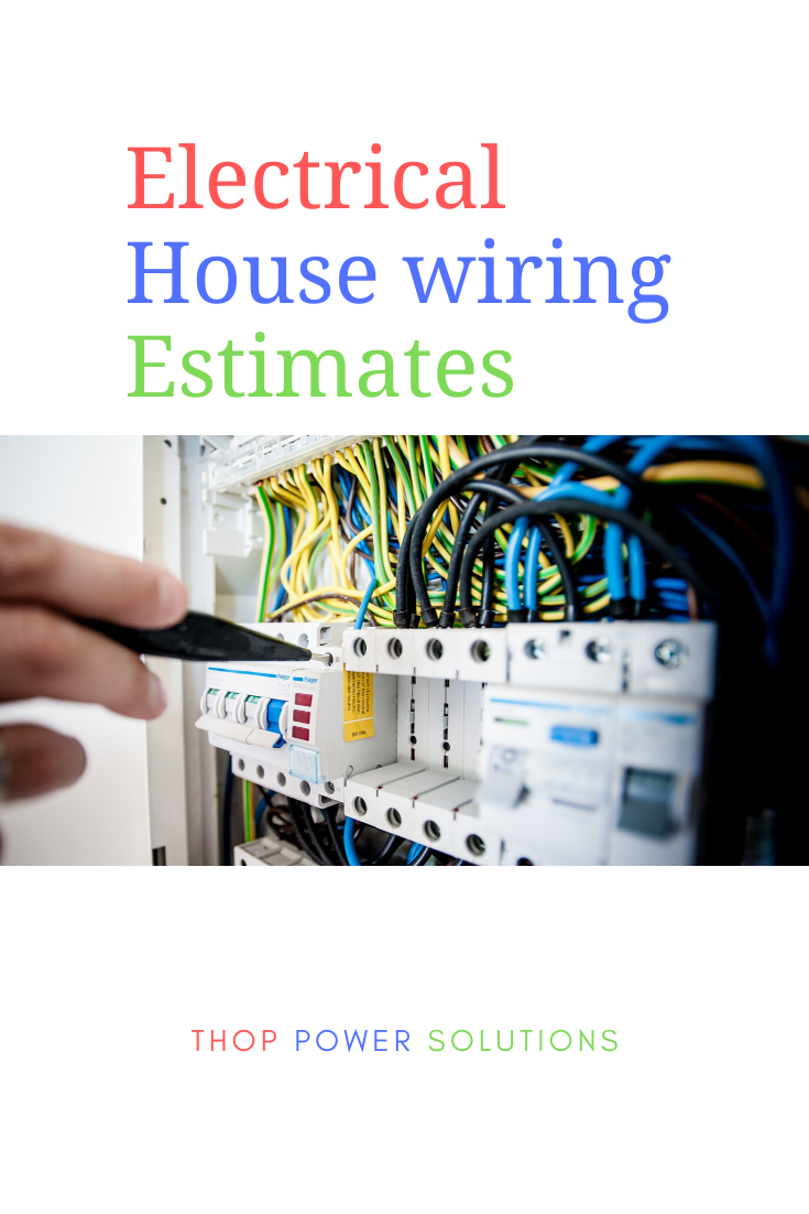 Electrical Estimating For A House Electrical Estimating Electrical Estimating Solutions Electrical Estimate Guide In 2020 House Wiring House Wire