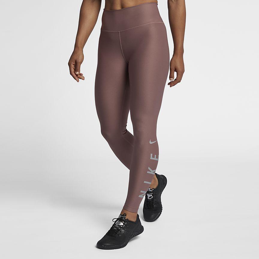 0e232679c7439 Nike Power Women s 7 8 Training Tights in Smokey Mauve Powerful Women