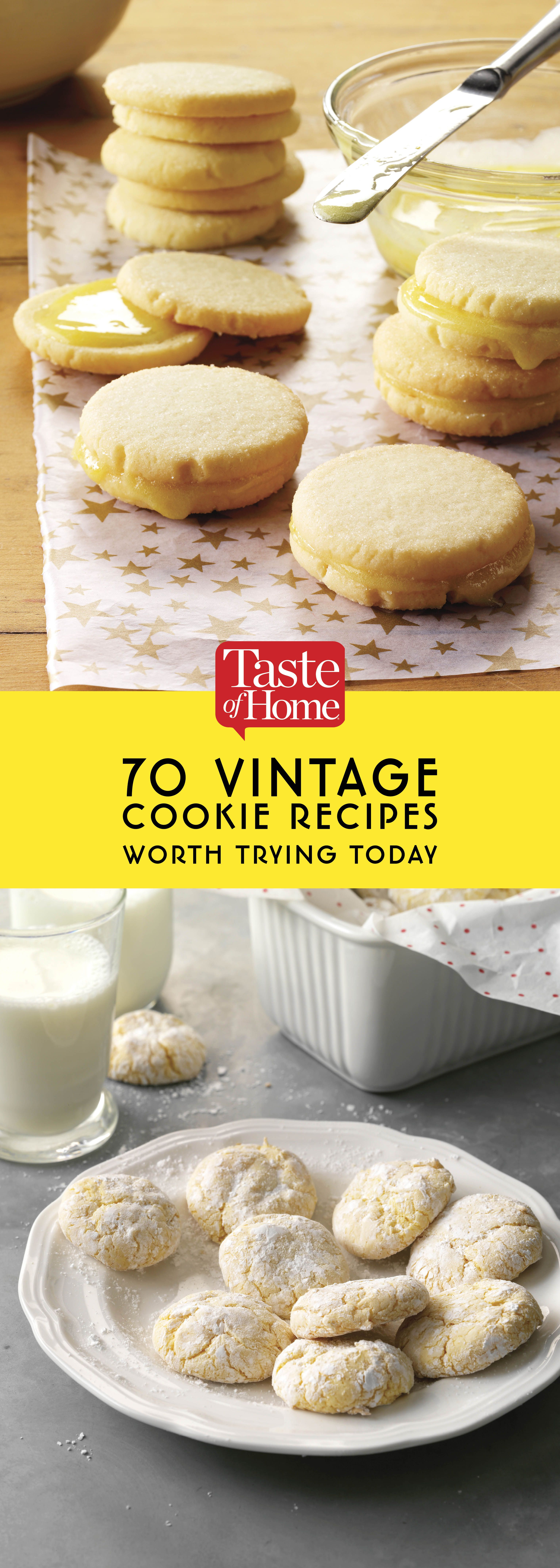 80 Vintage Cookie Recipes Definitely Worth Trying Today With