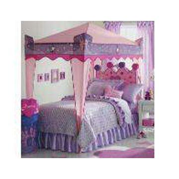Princess Canopy Bed canopy dog beds | sugarplum princess dog bed at baxterboo