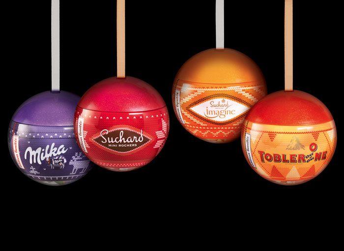Kraft Limited Edition Christmas Balls   Christmas packaging