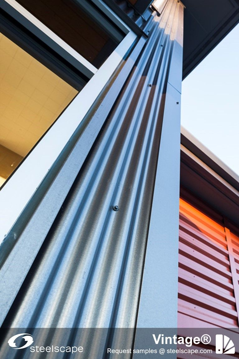 Vintage Metal Roof And Siding Colors In 2020 Metal Roof Standing Seam Siding Colors