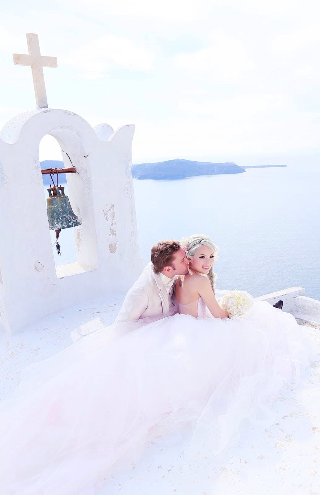 Xiaxue And Her Gorgeous Smile Wedding Wedding Shoot Greece Wedding