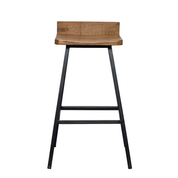 Clay Alder Home Atchafalaya Wood 27 Inch Counter Stool By Kosas Home