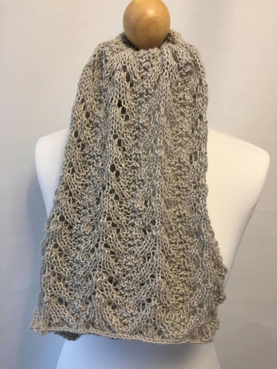 Knitting pattern scarf (With images) | Scarf knitting ...