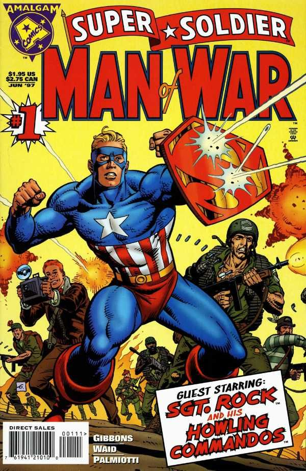 Super Soldier: Man of War by Dave Gibbons