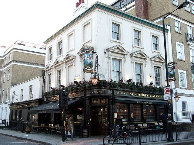 St George S Tavern Pimlico Sw1 London Pubs Pimlico London England