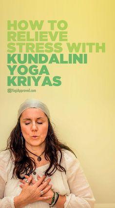 how to relieve stress with kundalini yoga kriyas