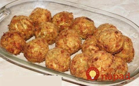 Chrumkavé cuketové guľky s cesnakom a syrom, bez vajec: Výborný letný obed raz-