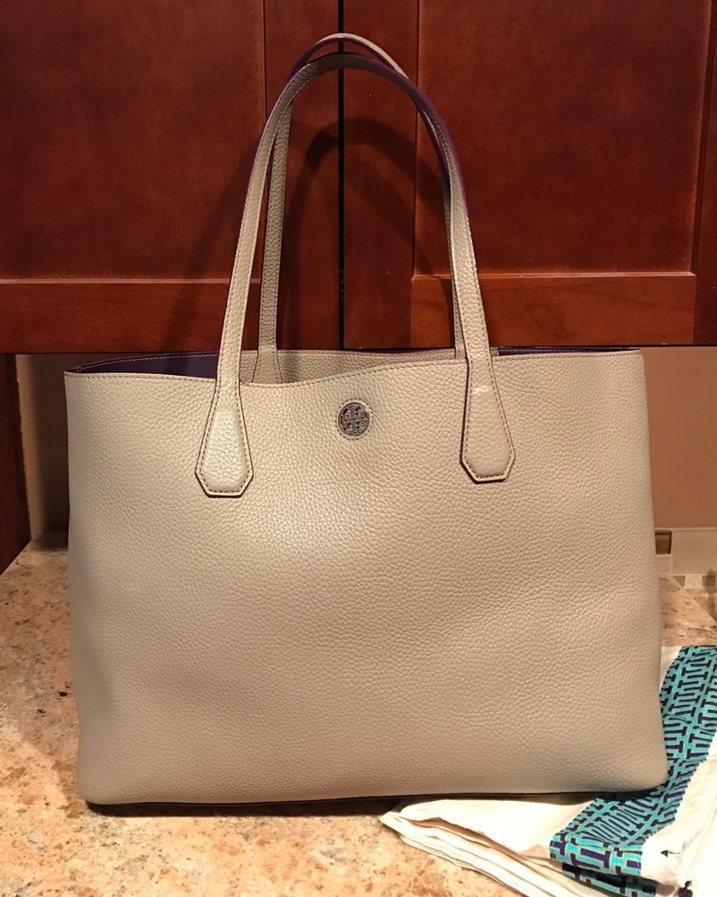 2231e4af3a4b Tory Burch Perry Tote - French Grey