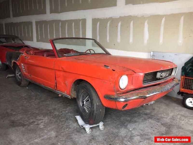 1966 Ford Mustang CONVERTIBLE #ford #mustang #forsale #unitedstates