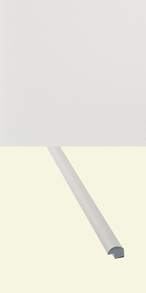 Peel And Stick Decorative Wall Tile Trim Aspect  24 In Matte White Peel And Stick Decorative Wall Tile