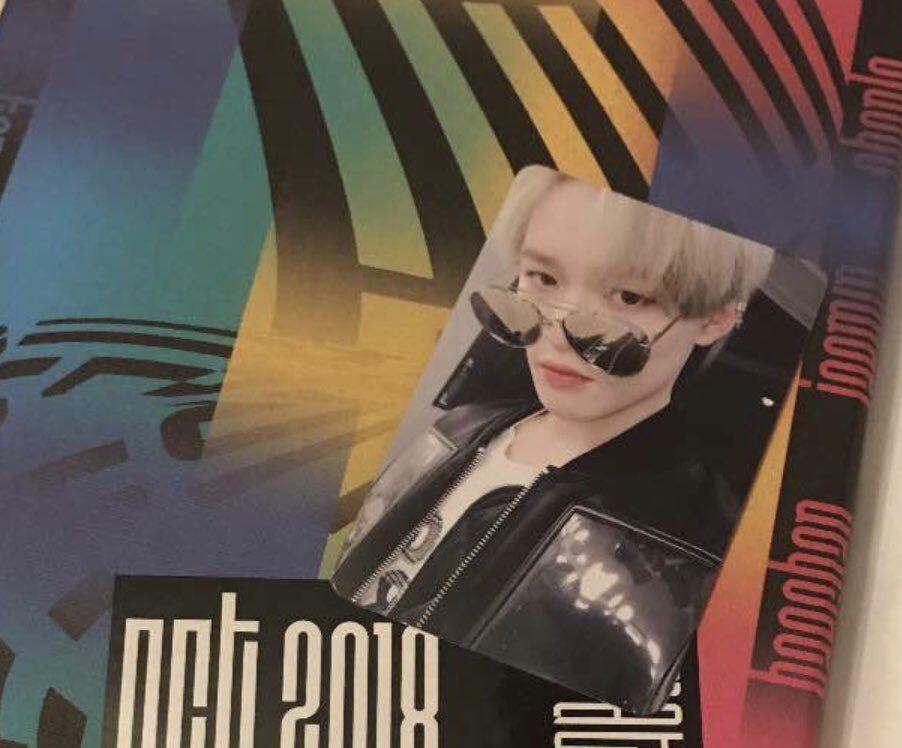 NCT NCT 2018 Album EMPATHY CD Poster Random Version