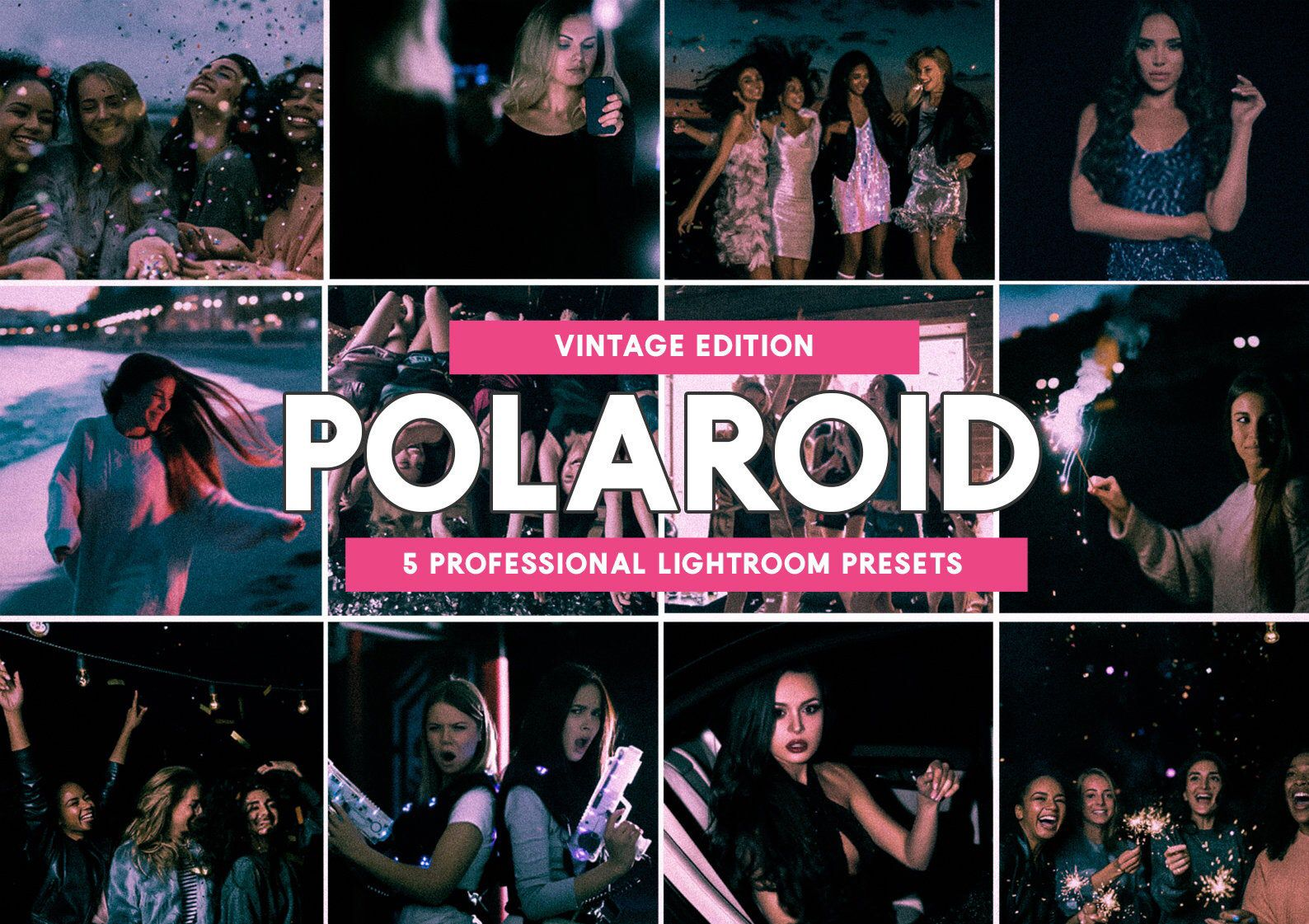Excited To Share The Latest Addition To My Etsy Shop 5 Polaroid Lightroom Presets Lightroom Presets Lightroom Presets Tutorial Professional Lightroom Presets
