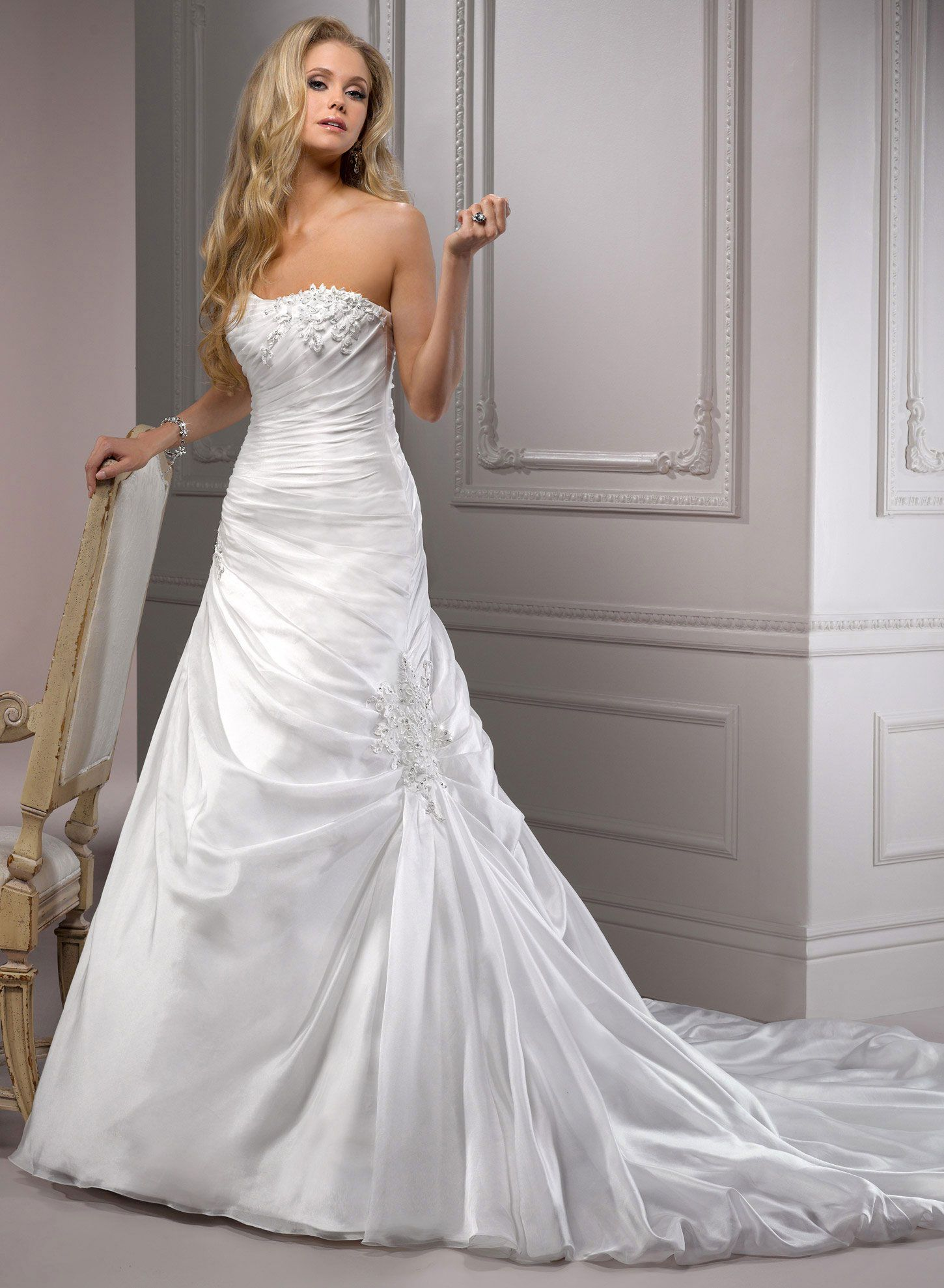 Maggie Sottero A Line Wedding Dresses