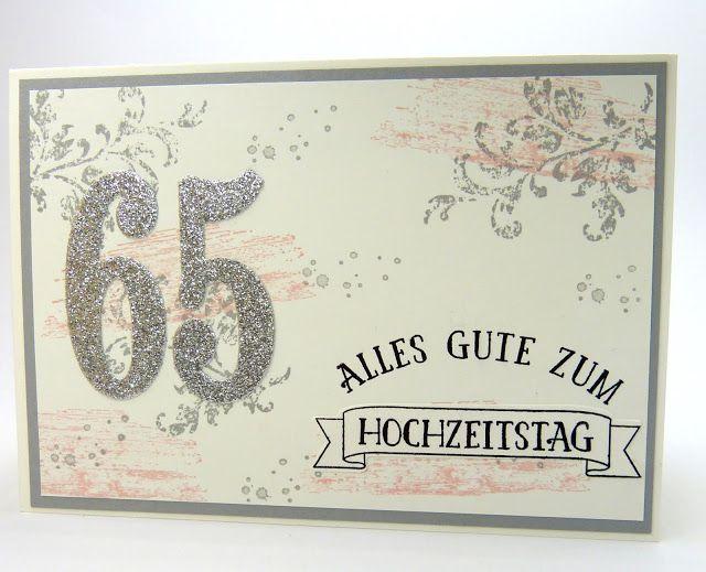 Stempelitis.de, Stampin Up, Eiserne Hochzeit, 65, Karte Zur Hochzeit