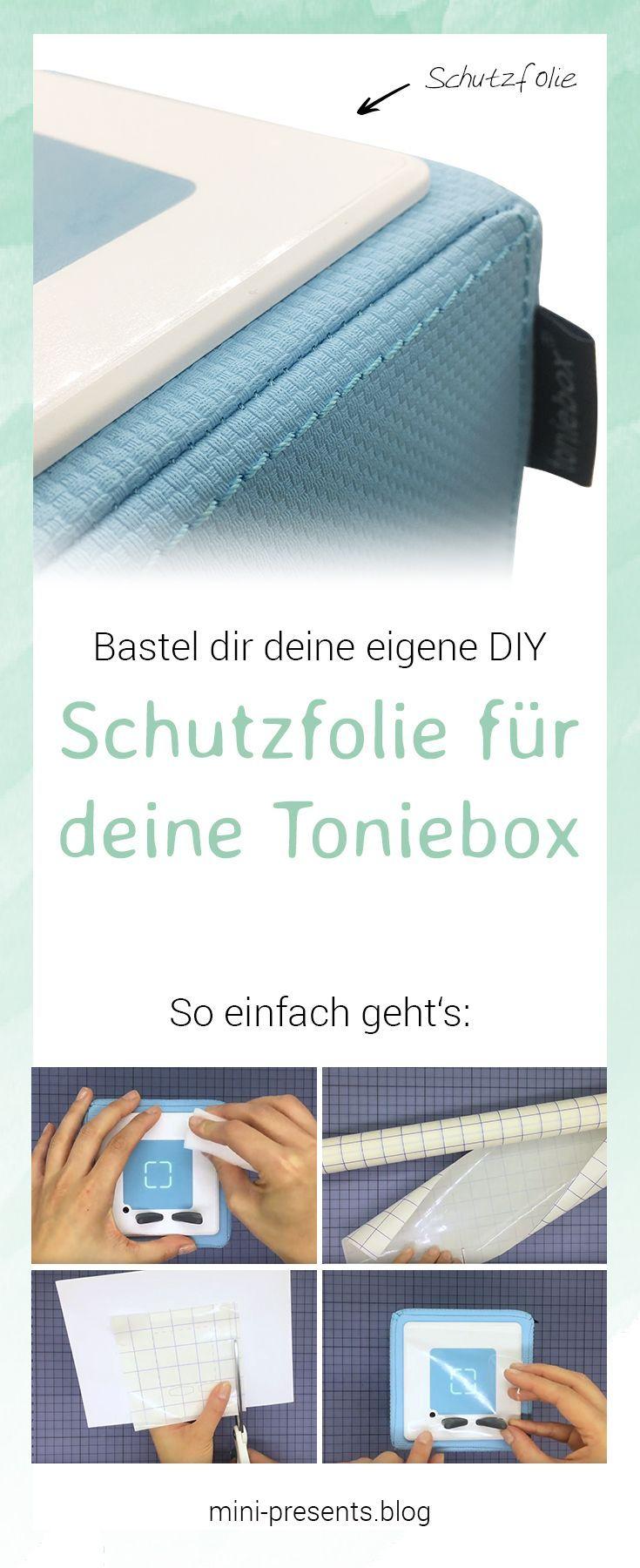 Selbstgemachte Schutzfolie für deine Toniebox | Box vorlagen ...