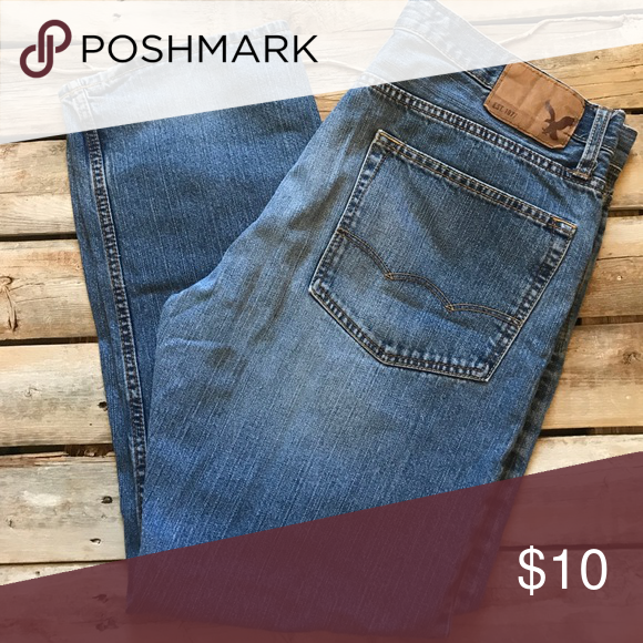 Men's American Eagle jeans Relaxed/straight Fit. No holes or rips American Eagle Outfitters Jeans Straight