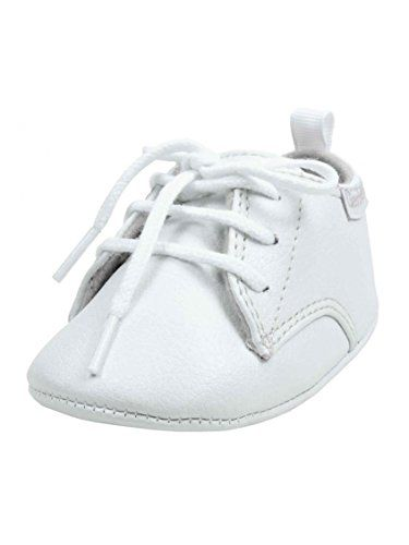 Baby Boy Special Occasion and Baptism Crib Shoes by Gerber - White ...