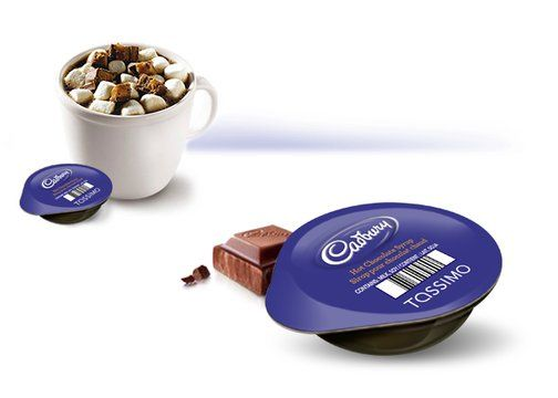 Candy Bar Hot Chocolate Drink Tassimo Prepare One