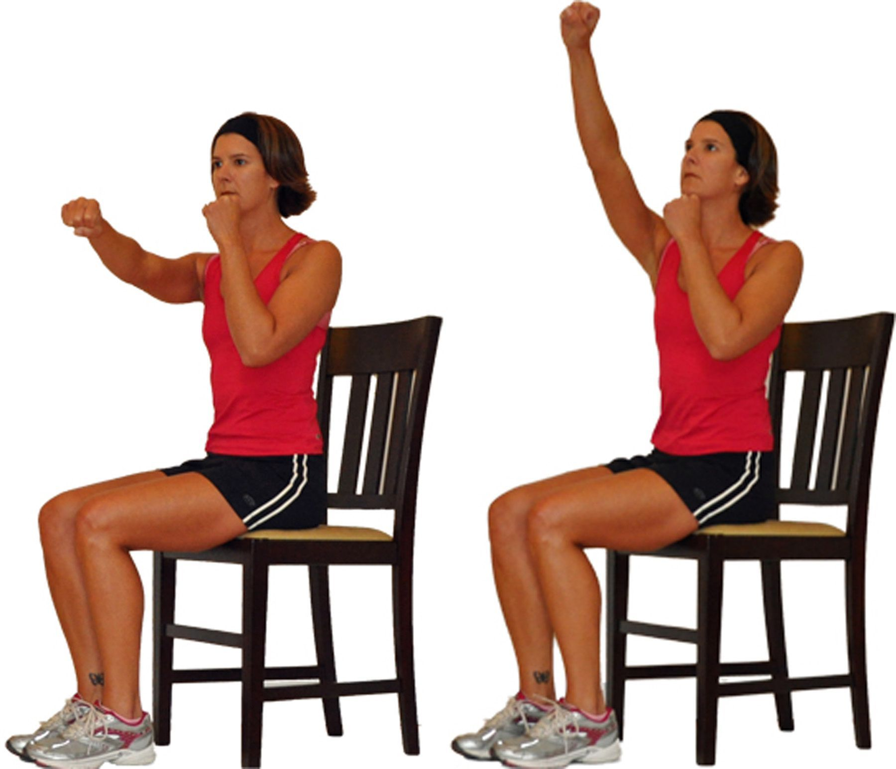 You Can Still Workout Your Upper Body From A Chair Bodyweight
