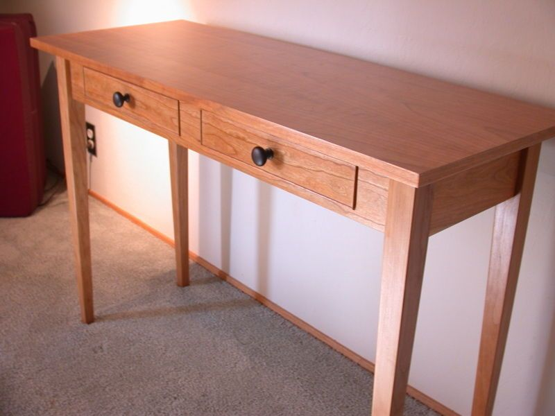 Shaker Entry Table   By Daiku1 @ LumberJocks.com ~ Woodworking Community