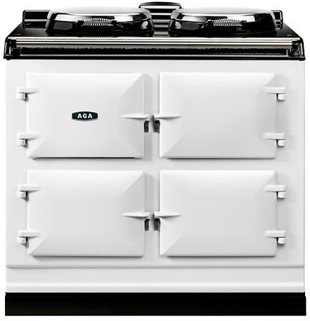 Aga Adc3gwht Electric Cooker Range Cooker Gas Oven