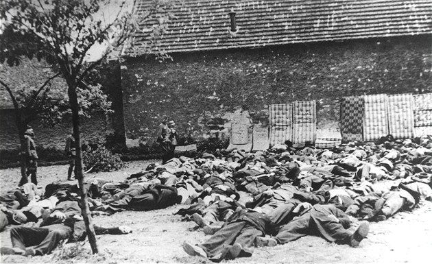 Executed men of Lidice, 10.06.1942.