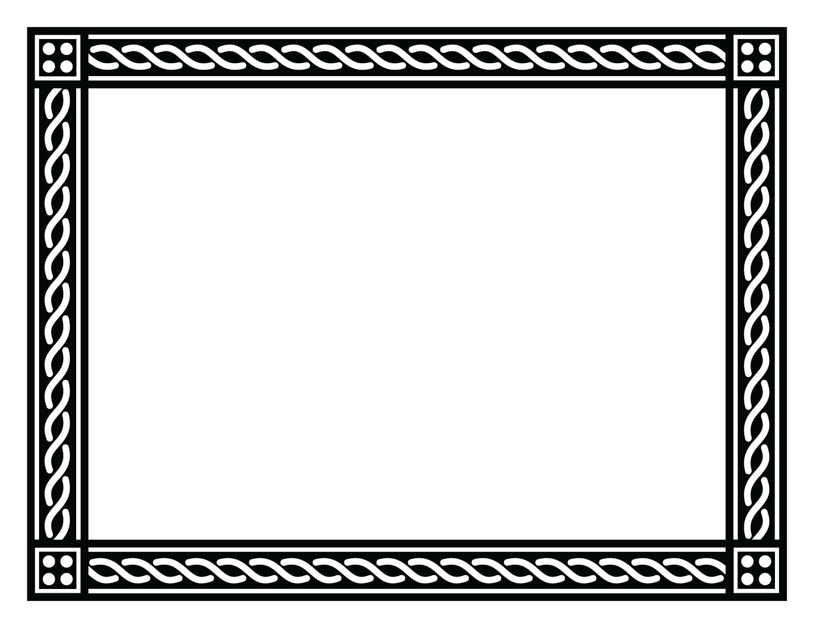 black border png | Certificate-Border-2-Black-PNG.png | Frames ...