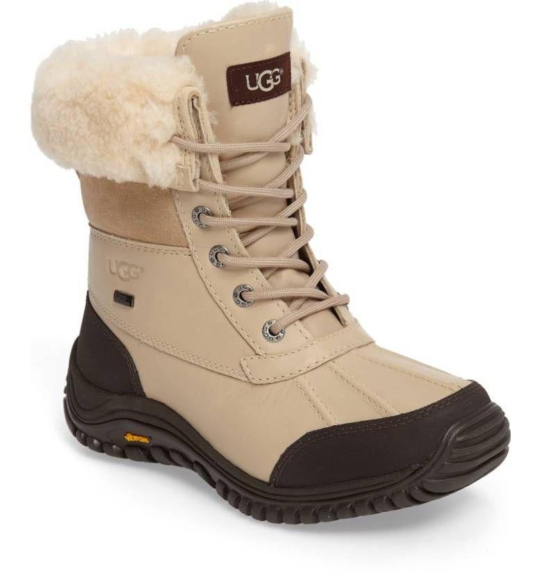 This toprated UGG Adirondack II Waterproof Boot is super versatile with genuine