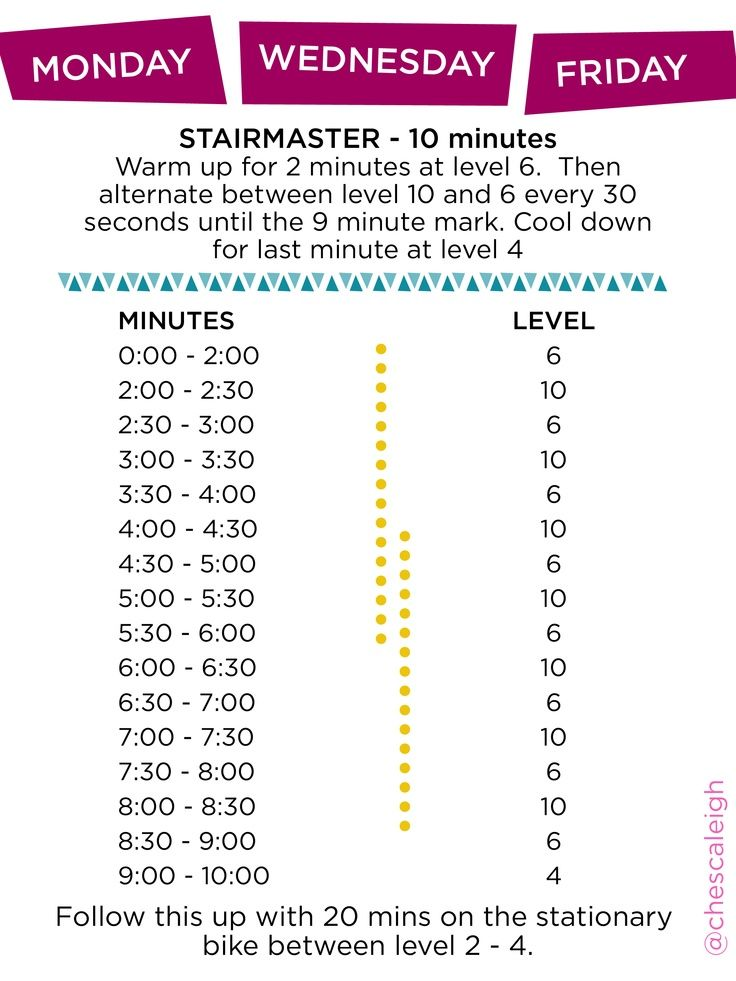 Quick Stairmaster Workout | Working out | Pinterest