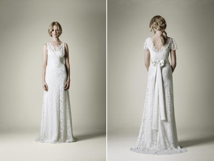 hochzeitskleid ideen vintage brautkleider 30er   Hochzeitskleider ...