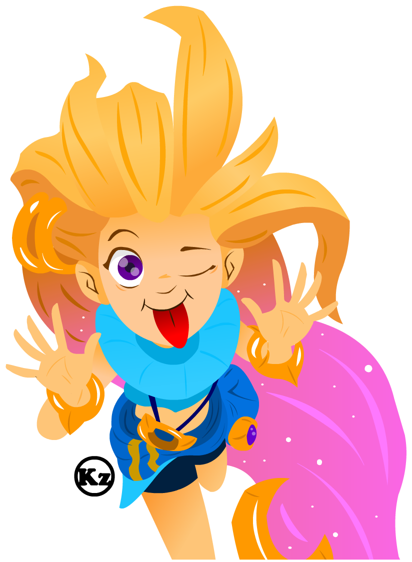 Zoe From Lol By Kaji Zu Lol Pinterest Videos And Juegos