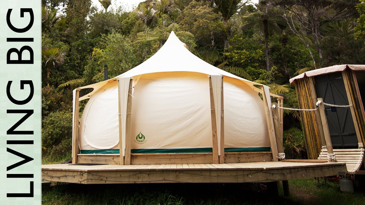 Escaping the Rent Trap - Simple Living In A Lotus Belle Tent & Escaping the Rent Trap - Simple Living In A Lotus Belle Tent ...
