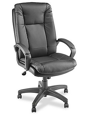Superieur Leather Conference Room Chair H 2753   Uline