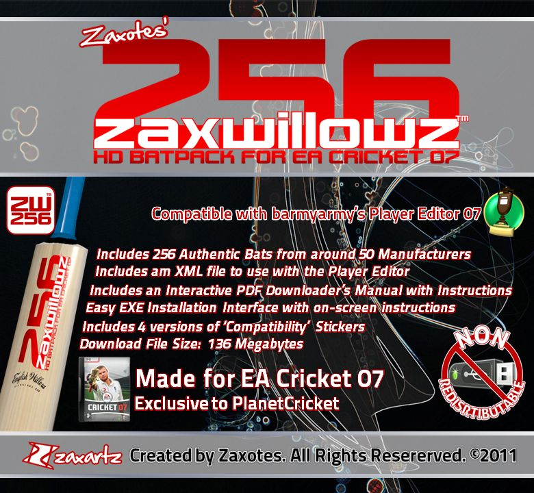 zaxwillowz the ultimate 256 bat pack