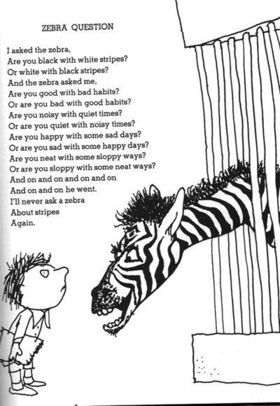 Don't judge a zebra by his stripes