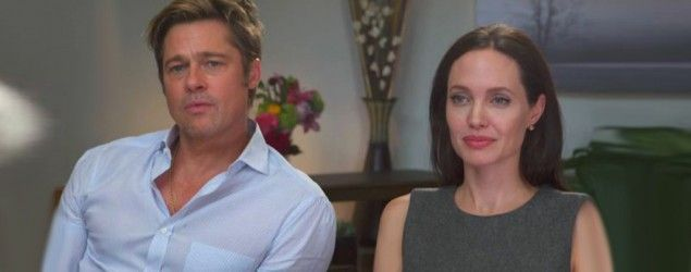 Brad Pitt and Angelina Jolie sit down with Tom Brokaw on 'Today.' (NBC)