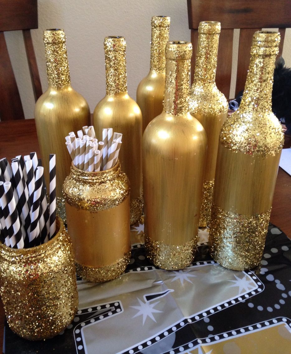 21+ Wine bottle crafts with glitter info