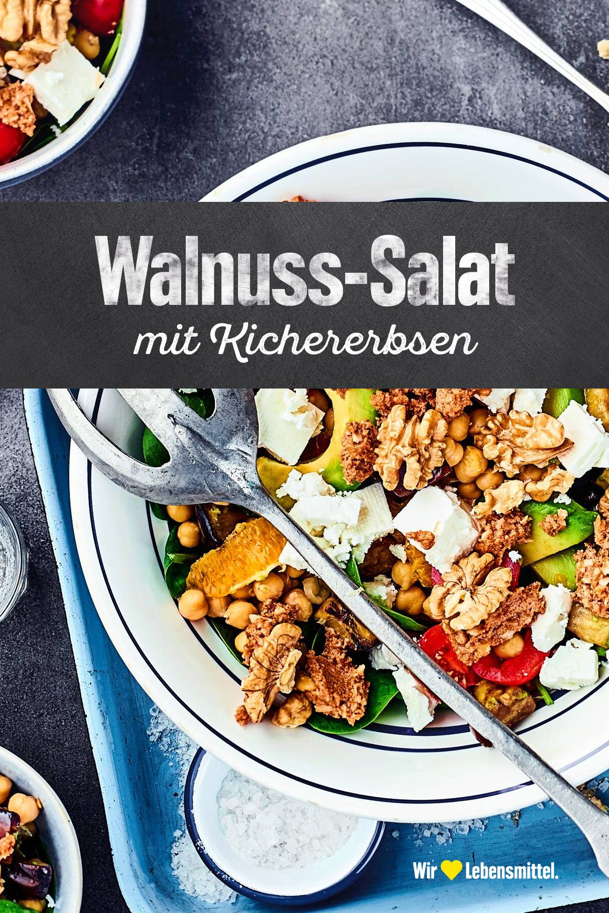 Photo of Chickpea and walnut salad