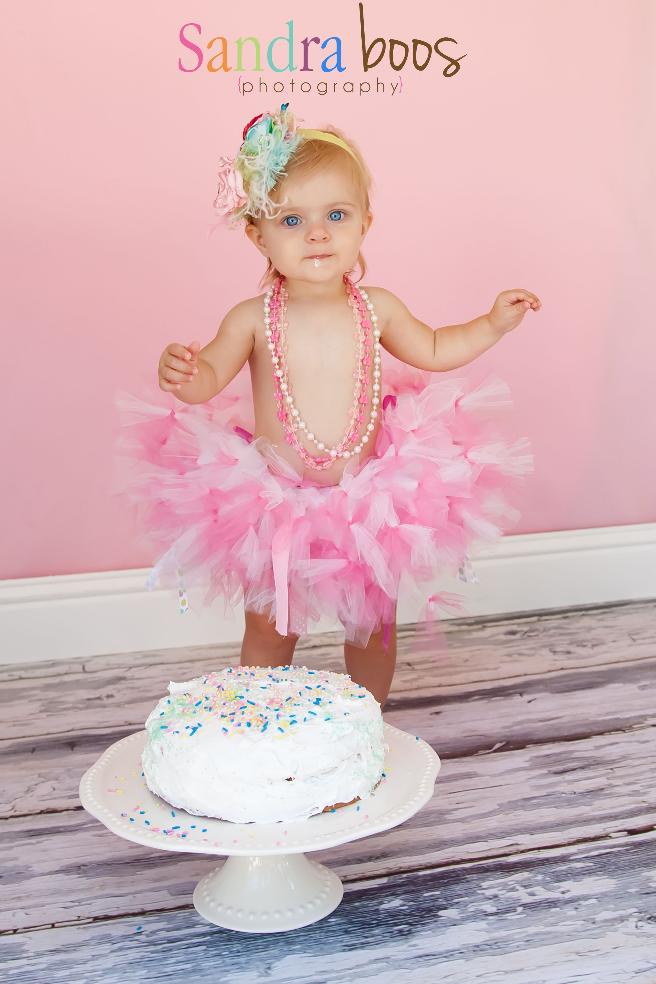 One Year Cake Smash Photographers California
