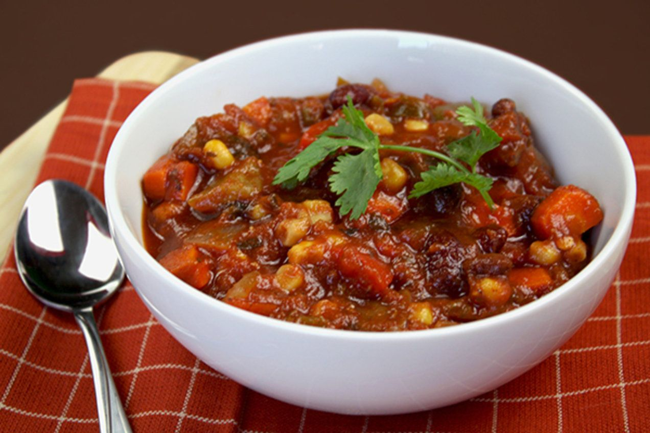 Dan-Good Chili Recipe #veggiechilirecipe