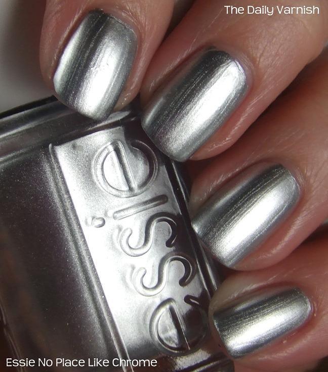 How To Make Metallic Nail Polish Go On Smooth. Essie No