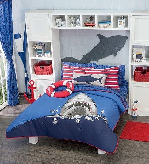 Shark Themed Boy\'s Room   Shark and Room